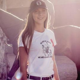 Camiseta Feminina Dressur<br> estampa amazona