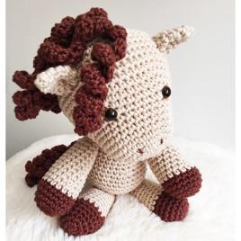 Cavalinho Amigurumi<br> Crochê