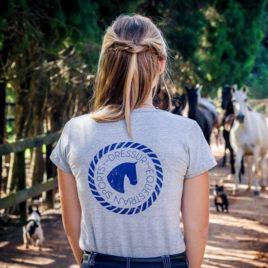 Camiseta Horsehead<br> Dressur