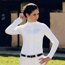 Camisa de prova Dressur <br>manga longa