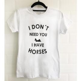 Camiseta H&Co<br>I Have Horses