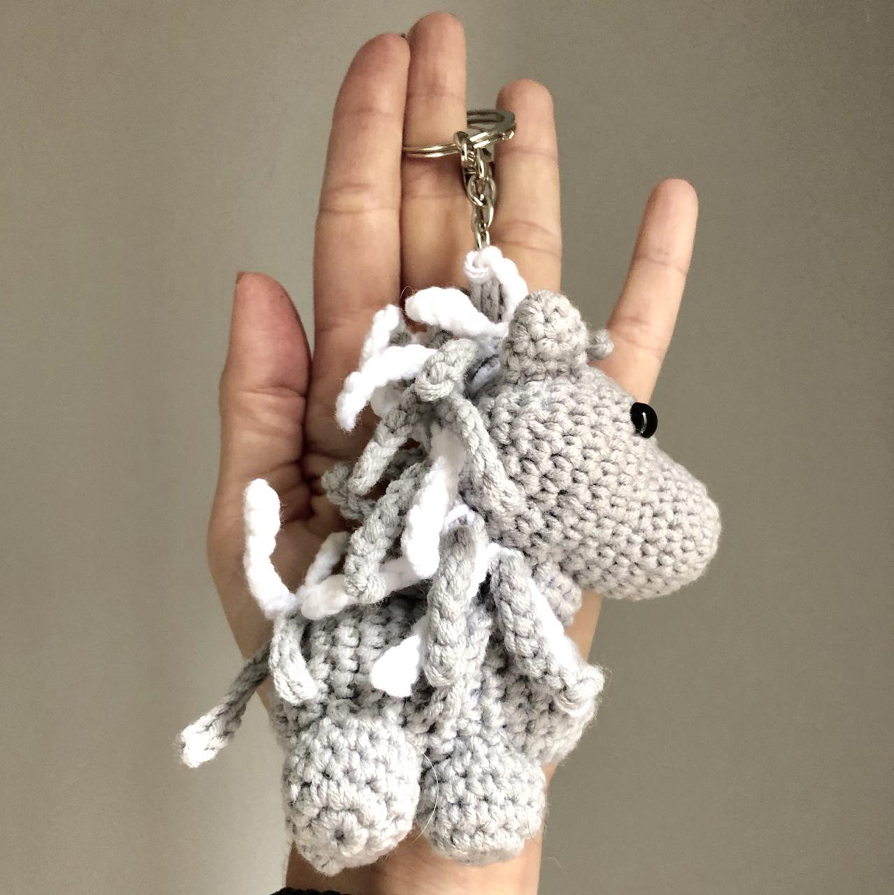 Tartaruga Mini Amigurumi - Chaveiro Crochê. Kit C/15 Peças - R$ 98 ... | 1280x1278